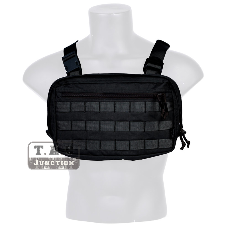 Emerson Tactical Combat Chest Recon Kit Bag EmersonGear Multi Purpose Utility Concealed Tool Pouch for Airsoft