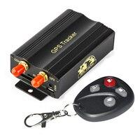 Car GPS Tracker System GPS GSM GPRS Vehicle Tracker Locator with Remote Control SD SIM Card Anti theft Car Alarm System