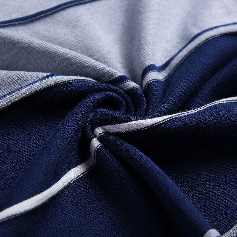 b31bc09d1 2019 nueva marca de moda suéteres hombres jersey de Color sólido Slim  jerséis Knitred V cuello