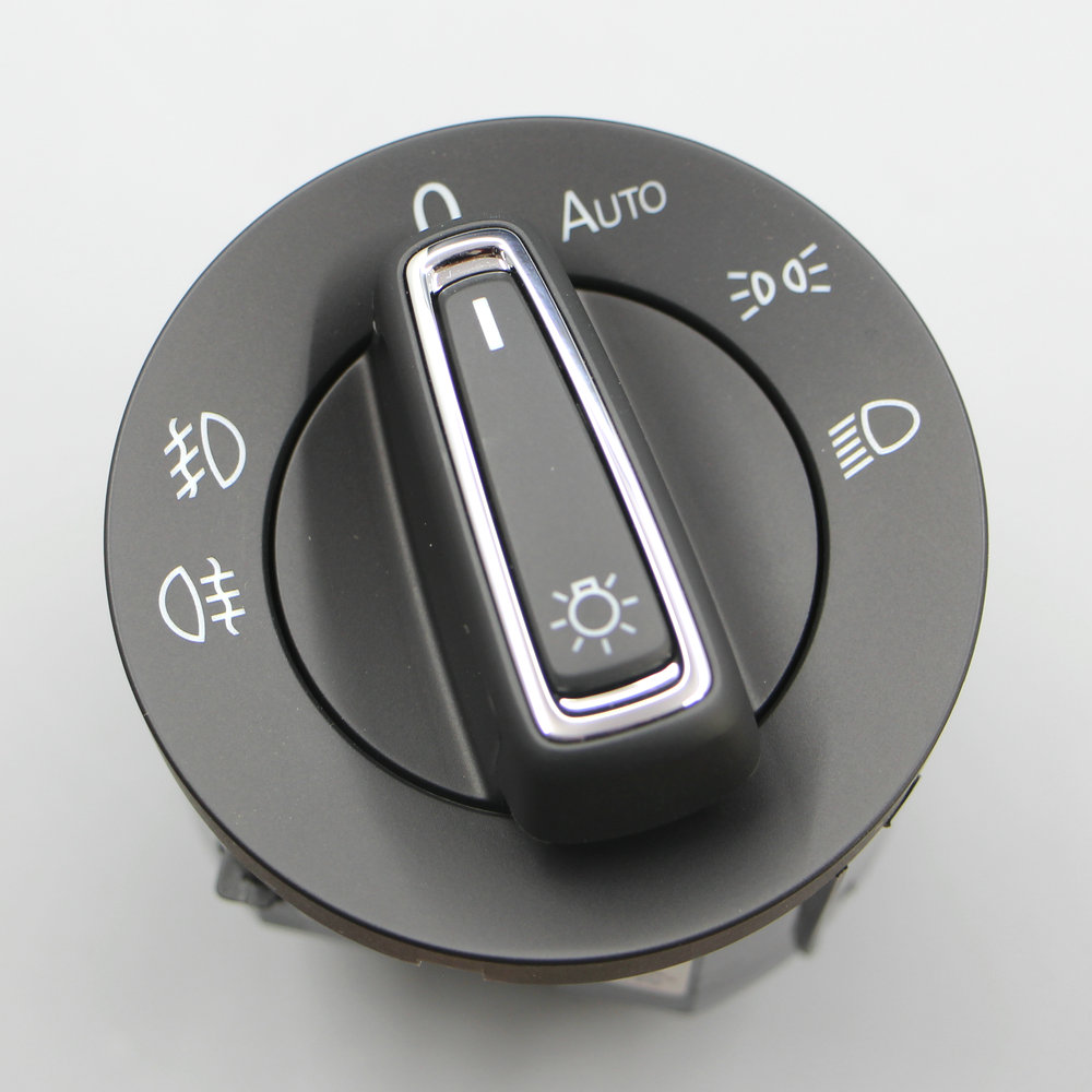 Apply to OEM VW Chrome Headlight Switch Auto For VW MK7 golf 7 RLINE Tiguan L Touran L 5GG 941 431 D 5GG9941431D bomiko auto l