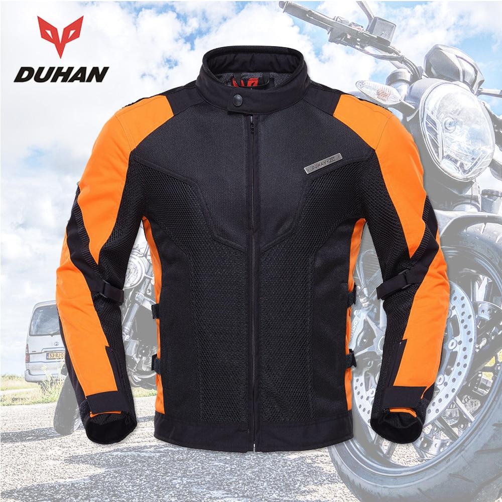 DUHAN Motorcycle Jacket Men  Equipment  Summer Breathable  Motorbike Jacket Motocross Off-Road Jaqueta  Cloth Racing Moto