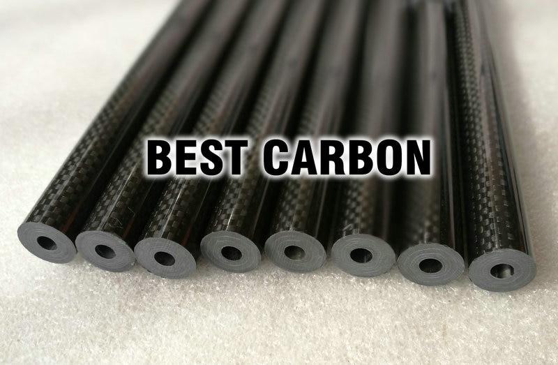 16 มิลลิเมตร x 5.5 มิลลิเมตร x 1000 มิลลิเมตรคุณภาพสูง 3 พันคาร์บอนไฟเบอร์ผ้าธรรมดาแผล/บ๊อกซ์/ ทอหลอดคาร์บอน Tail Boom-ใน ชิ้นส่วนและอุปกรณ์เสริม จาก ของเล่นและงานอดิเรก บน   2