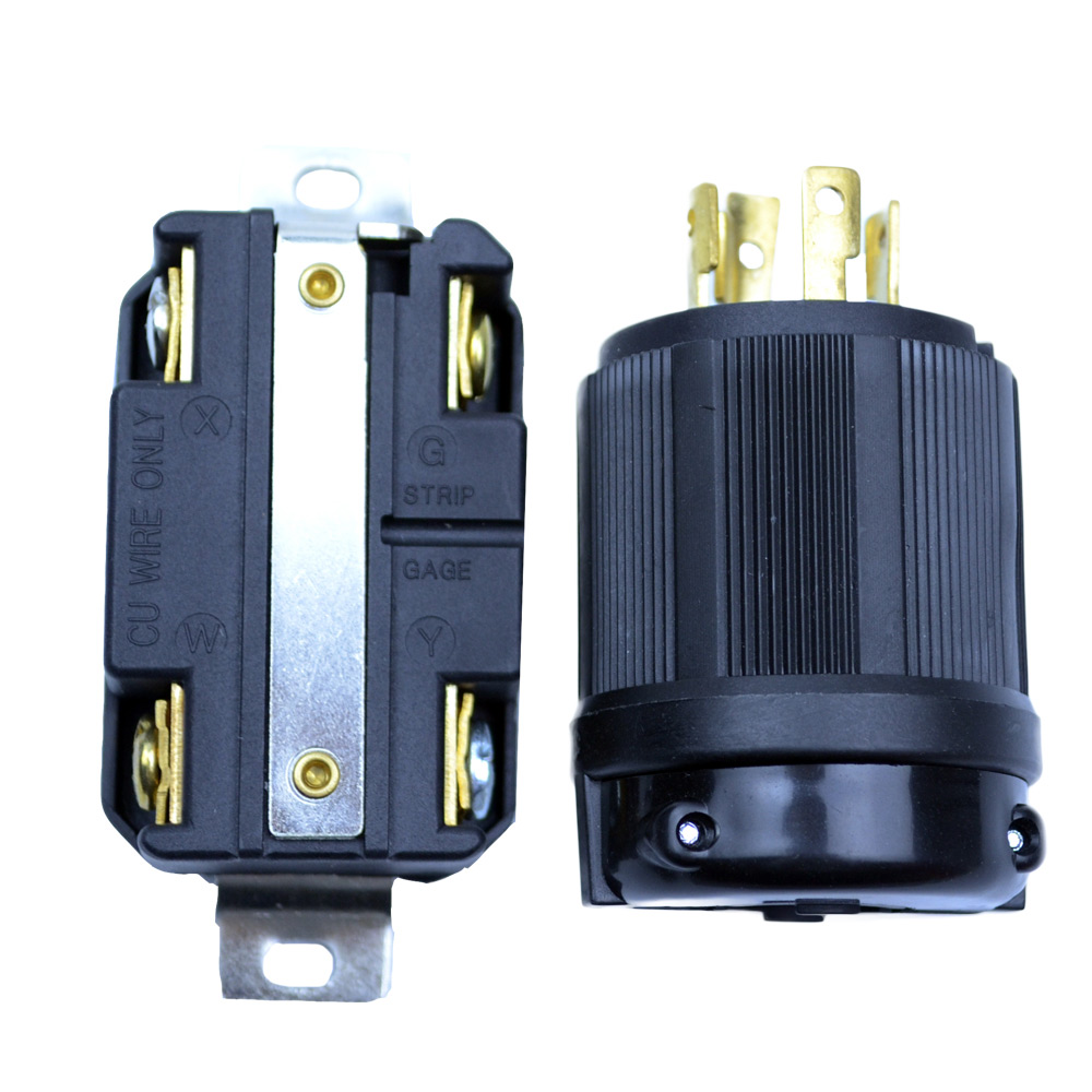 Generator RV AC Plug /& Socket L14-30 30 AMP 120V 220V Male /& Female Receptacle