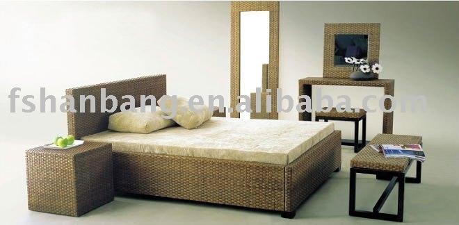 rattan bedroom furniture set in bedroom sets from