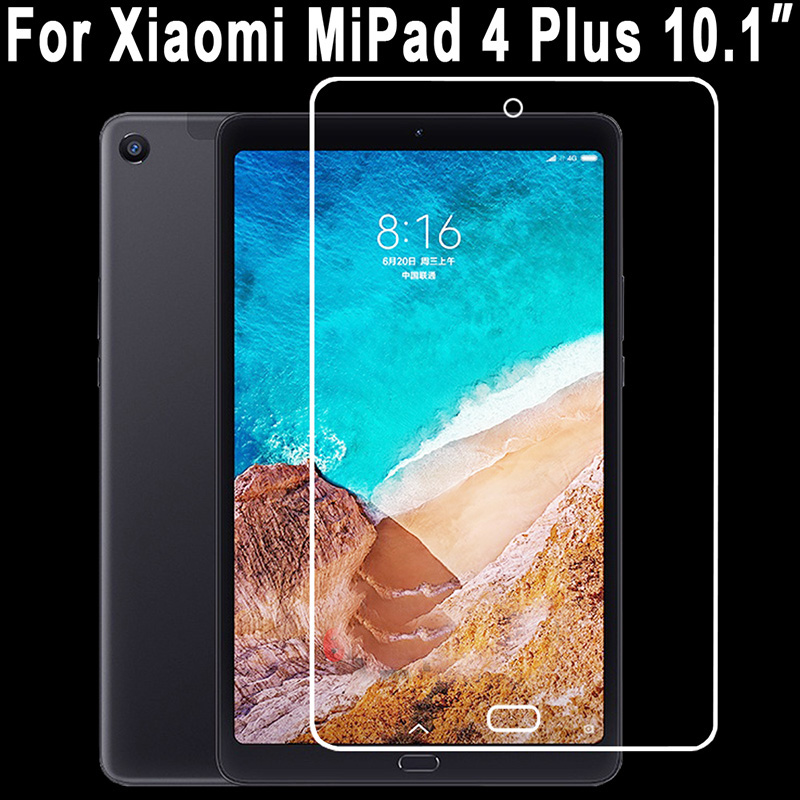 9H Tempered Glass For Xiaomi Mipad 4 Plus Mi Pad 4 Plus MiPad 4Plus 10.1 Inch Screen Protector Film Cover Explosion Proof Glass
