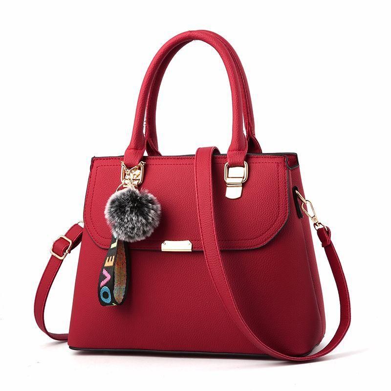 Classic Saddle Bags Office Lady PU Leather Handbags Versatile Crossbody Bags Women Single Shoulder Bags & Crossbody Bags (SD001)
