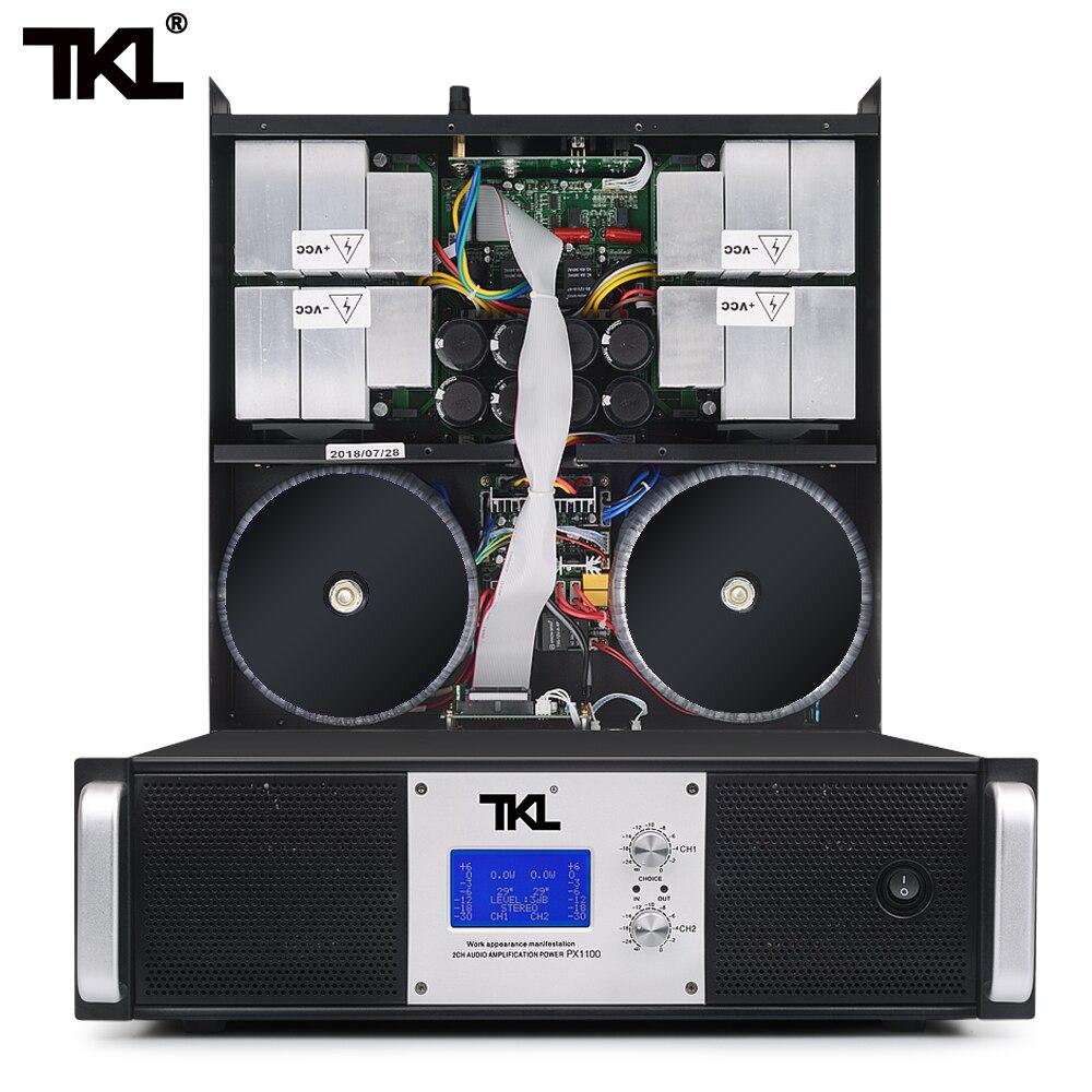 TKL PX300 New Power Amplifier 500W Power Professional Stage Performance Karaoke Heavy Bass Original HIFI Power AmplifierTKL PX300 New Power Amplifier 500W Power Professional Stage Performance Karaoke Heavy Bass Original HIFI Power Amplifier