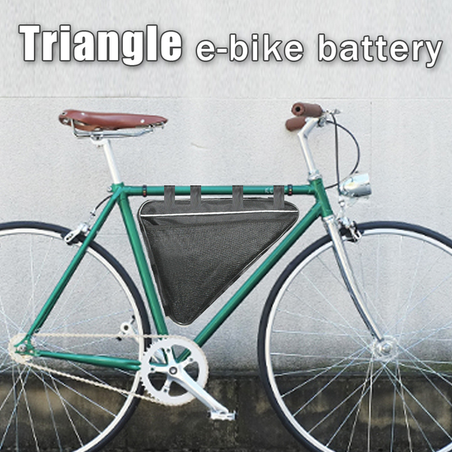 Triangle Electric Bike Battery 24v Lithium Ion 1000w 2000w Battery