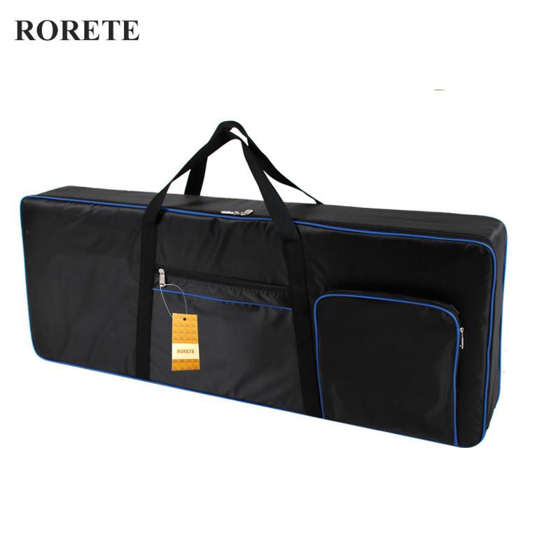 Prix pour RORETE Professionnel 61 clé universelle Instrument clavier sac épaissie étanche électronique piano couverture cas pour électronique