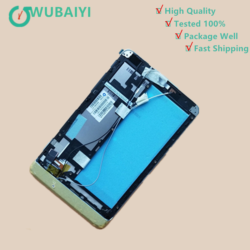 8 For Lenovo miix 2 8 LCD Display+Touch Screen Digitizer Assembly with Frame for nokia lumia 530 lcd display touch screen digitizer assembly with frame 100