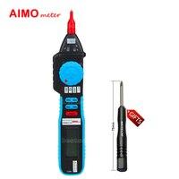 AMS8211D Pen Type Digital Multimeter Logic Level Test Non Contact Voltage Meter Tester
