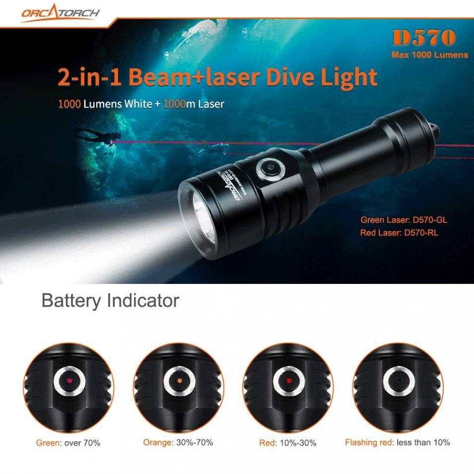 Lampe de poche de plongée TrustFire DF003 100 m sous marine 3000 lumen 3T6 3 x XM L T6 LED étanche torche et 2*26650 batterie et chargeur - 3