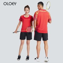 two piece set women tracksuit mens sport suit training outfit badminton volleyball tennis jersey couple sweatsuit track