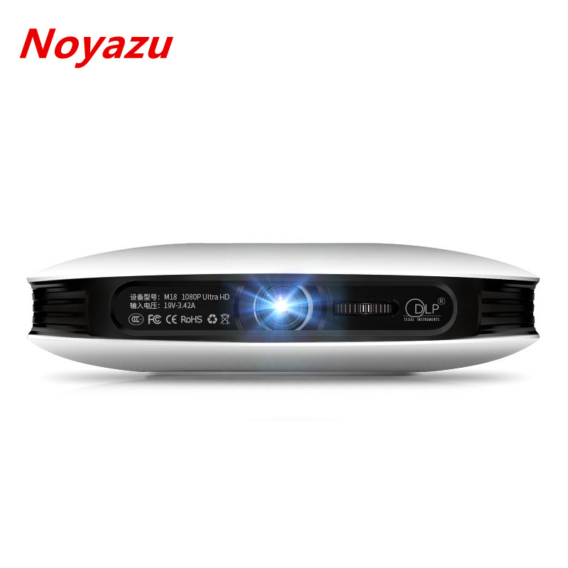 Noyazu Home Theater 1080P DLP Projector for School 3D Beamer Portable Business Projector Full HD 4K Cinema Android wifi 2016 new dlp wifi 5600 lumens 4k android 4 4 home theater projector full hd 1080p digital video led mini projector
