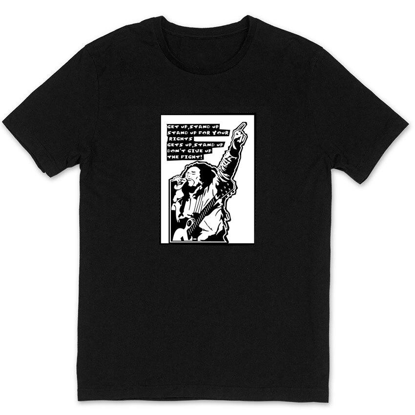 <font><b>could</b></font> you <font><b>be</b></font> <font><b>loved</b></font> bob marley 100% cotton black t shirts vintage fashion