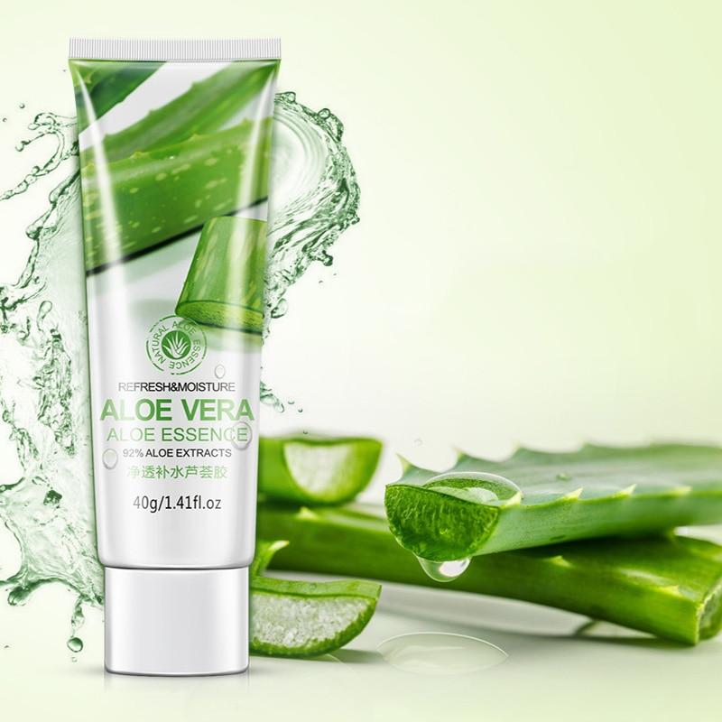 BIOAQUA Brand 40g Aloe Vera Gel Skin Care Face Cream Hyaluronic Acid Anti Winkle Whitening Moisturizing Acne Treatment Cream 2
