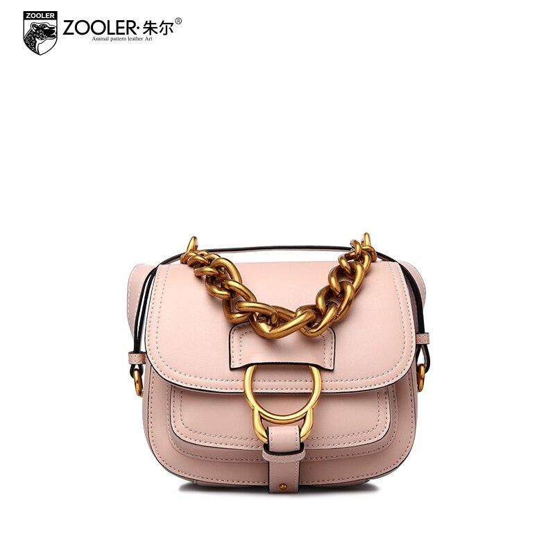 HOT&new!ZOOLER mini bag 2018 woman messenger bags genuine leather bag cross body famous brand lady elegant small chain bag#6199