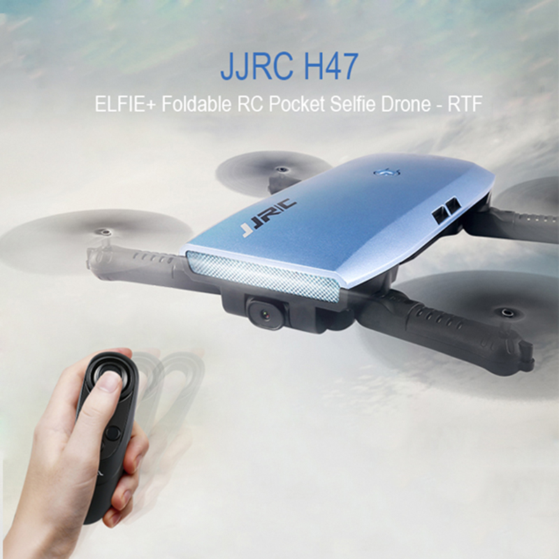 Original JJRC H47 ELFIE Drone with HD Camera Upgraded Foldable RC Selfie Dron Quadcopter Helicopter VS H37 Mini Eachine E56...