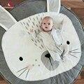Esteira do jogo New Bonito 95 cm Coelho Urso Cobertor Do Bebê Inflant Jogo Tapetes de Jogo dos desenhos animados Brinquedo da Criança Tapete Tapete Subida Interior de Verão presente