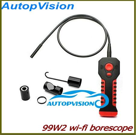 NEW 720P Wifi Borescope Inspection Camera 99W2 Support IOS Andriod and Windows System Waterproof Endoscope Mini Camera new safurance 8mm 6 led wifi endoscope waterproof ip67 borescope inspection camera for andriod ios