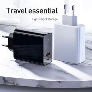 Image 5 - Baseus شحن سريع 4.0 3.0 USB شاحن آيفون 11 برو ماكس سامسونج شاومي هواوي SCP QC4.0 PD سريع الجدار شاحن الهاتف المحمول