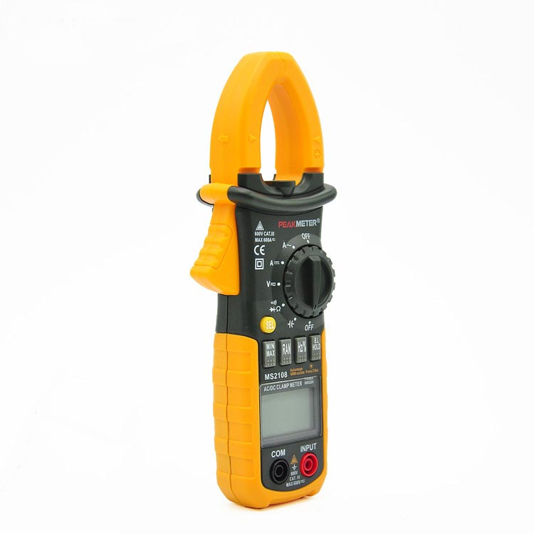 Digital clamp type table clip-on ampere meter clip-on multimeter цена