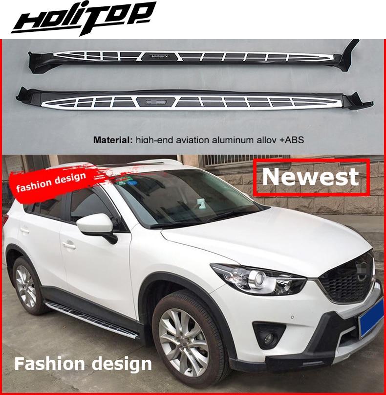 Модная модель Бег шаг в сторону доски nerf бар для Mazda CX-5 2012-2017, популярная модель, горячая Распродажа в Китае, молодые люди, как он