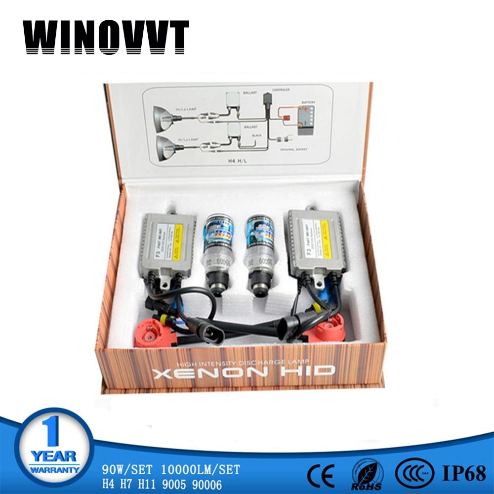 Xénon D2C D2S AC F3 35 W xénon HID Kit voiture phares 12 V 35 W 4300 k 6000 K 8000 k voiture phares ampoules lampe d2 hid