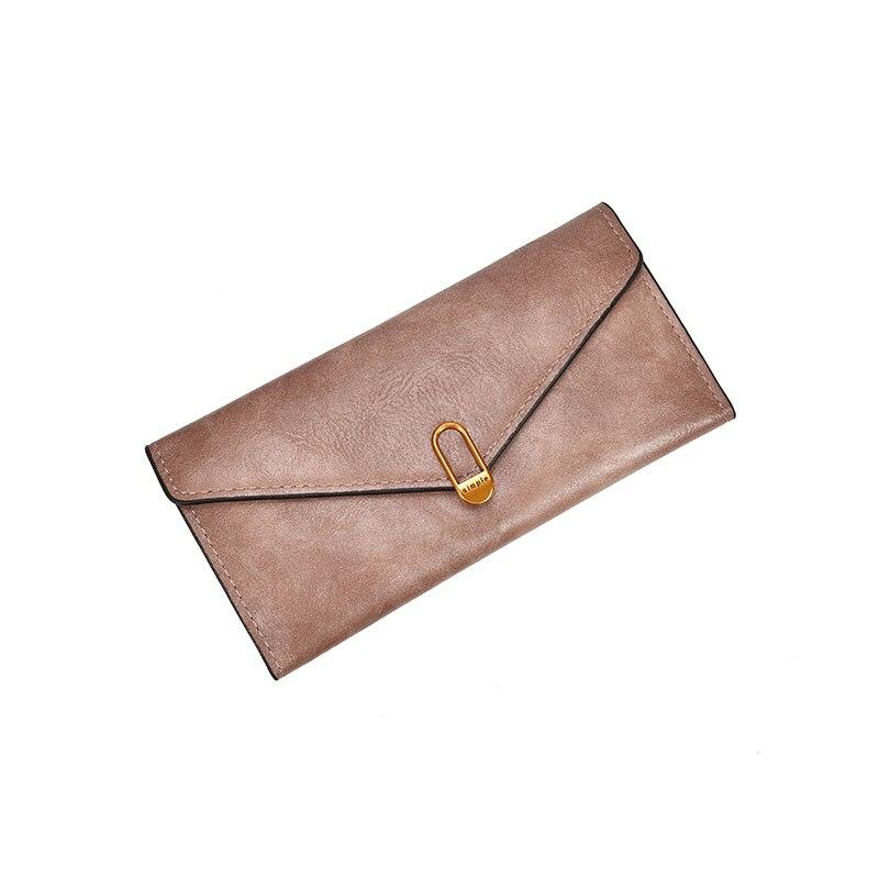 HH Casual Women Läder Plånbok Mynt Ficka Card Holder Lady Väskor - Plånböcker - Foto 4
