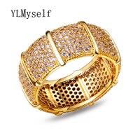 Лидер продаж круглый палец кольцо Полные размеры Оптовая ювелирные изделия моды Anillo Анель роскошные женские дизайнерские кольца круг