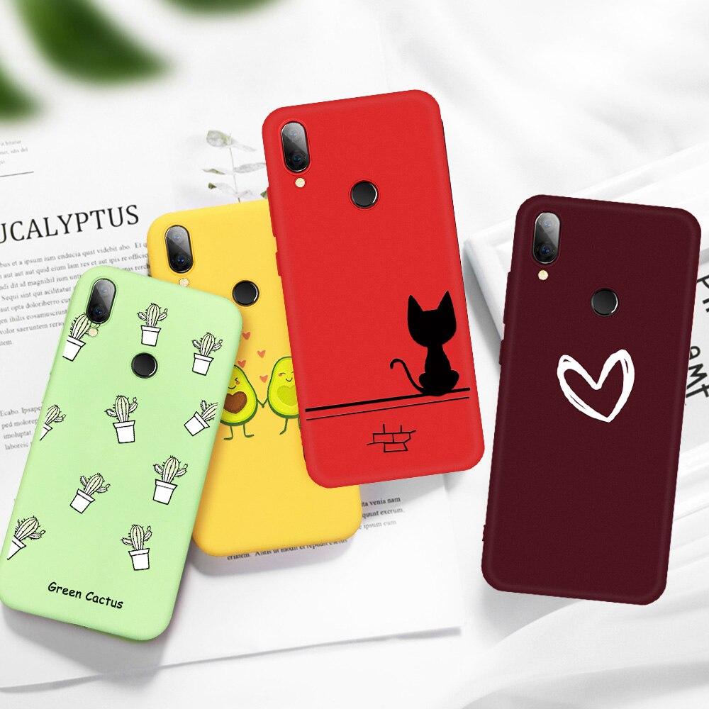 Pattern TPU Case For Xiaomi Redmi 6 Pro 6A Note 7 5 6 Pro Mi 8 Mi 9T Pro 9 SE Mi9 Mi8 Silicone Cover Colorful Pattern Phone Case