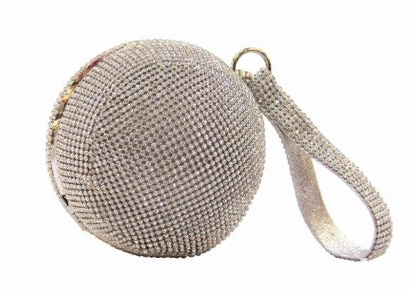 bc6c04d728 2015 diamond shining ball women clutch bag Envelope minaudiere bag mother  of pearl evening bag clutch Casua ladies clutch purse
