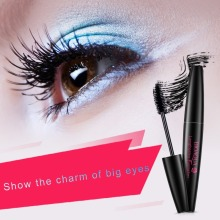 1PC Quick Dry Curling Eyelash Mascara Curling Lengthening Eyelash Extension Cosmetic Waterproof Liquid Mascara Volume Eyelash