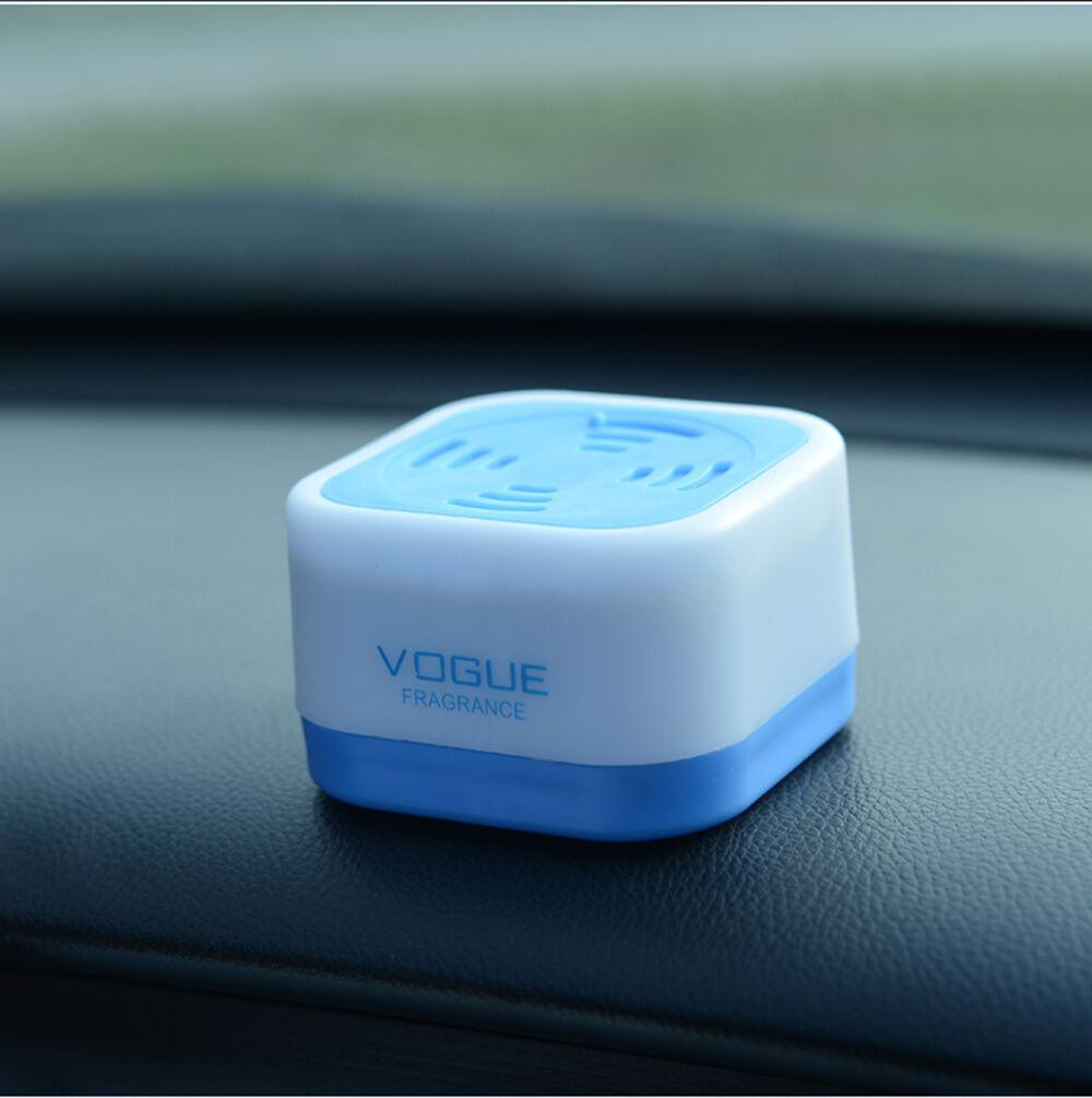 1 Pcs Gel Car Air Freshener Perfume 6 Different Deodorizing Scents Perfume Solid Fragrances Home ...