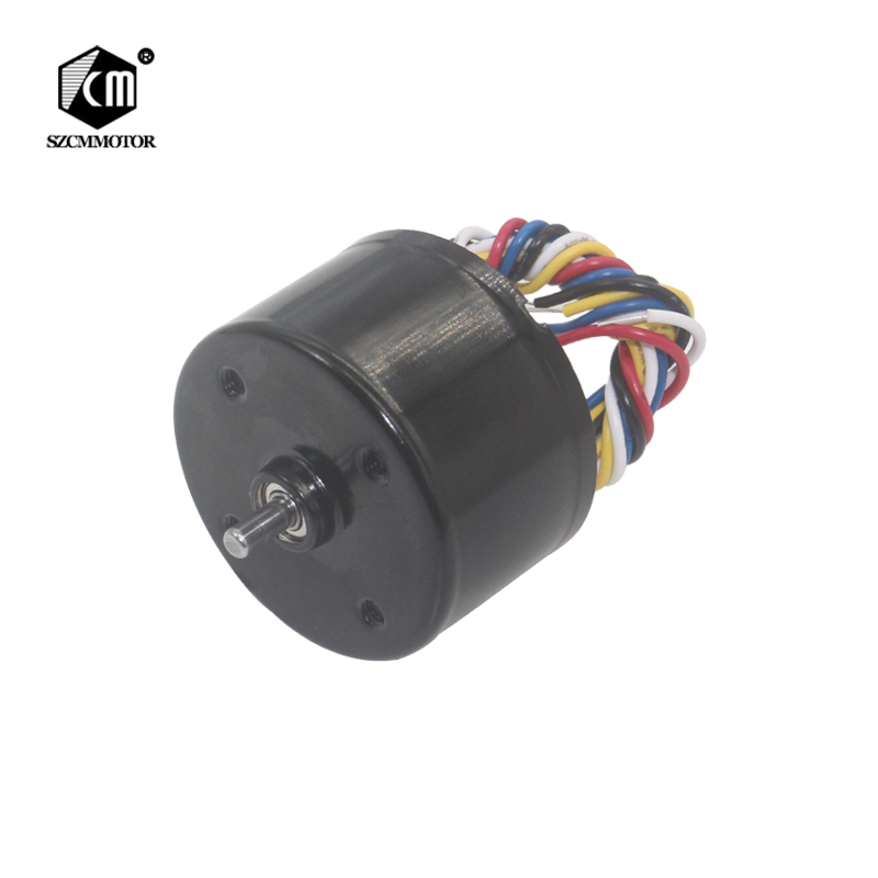 35mm Diameter Micro High Speed 3000RPM-6000RPM BLDC Motor 0-5v PMW Speed Adjust with Brake Brushless Electric Motor