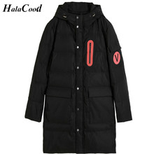 Hot Sell Thick Winter Down Jacket Men Warm New Fashion Brand Clothing Top Quality Long Male 90% White Duck Down Coat Male Parkas