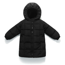 цена на Children Winter Jacket For Girls Boys Coat Hooded Warm High Quality Down Jackets Kids Outerwear Girls Jacket 3 4 5 6 7 8 9 Years
