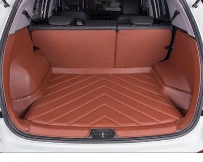 А. А. Специальные Коврики в Багажник Для Hyundai ix25 ix35 ix45 Прочный износостойкости Водонепроницаемый Загрузки Ковры Для ix35 ix25 ix45