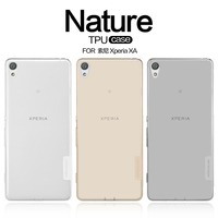 TPU Case For Sony Xperia XA NILLKIN Nature Ultra Thin Transparent Clear TPU Soft Back Cover