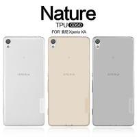 TPU Case For Sony Xperia XA NILLKIN Nature Ultra Thin Transparent Clear TPU Soft Back Cover