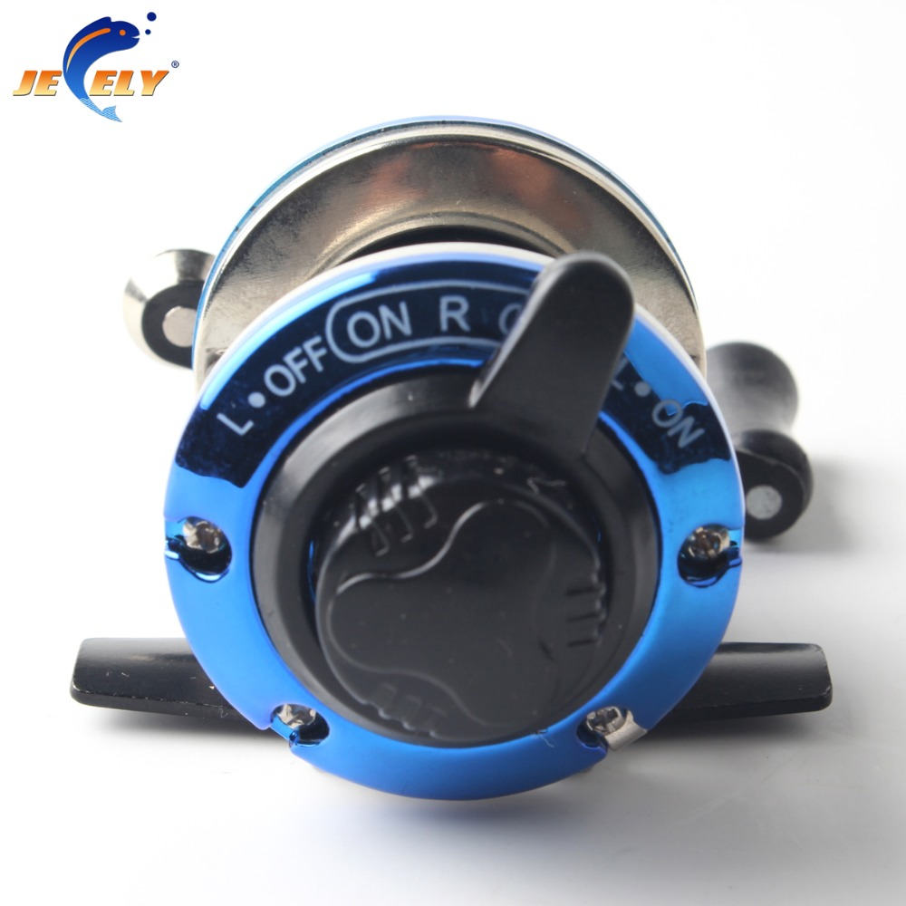Smallest bait casting mini ice fishing reel with line 50m for Ice fishing reels