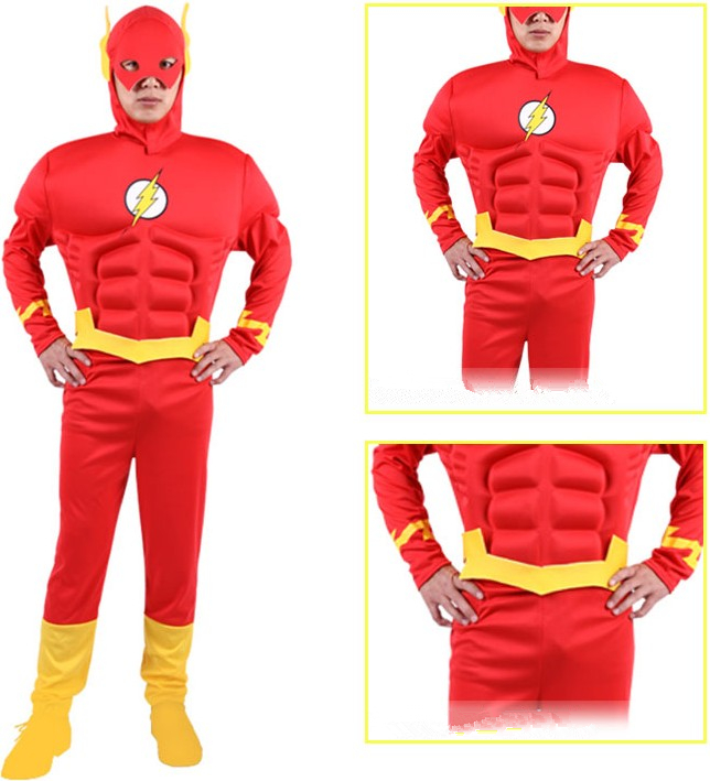 The Flash Cosplay The Flash Barry Allen Cosplay Costume Adult Menu0027s Halloween Carnival Cosplay Costume on Aliexpress.com | Alibaba Group  sc 1 st  AliExpress.com : the flash costume womens  - Germanpascual.Com