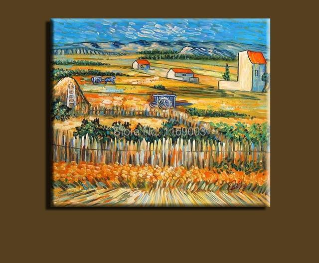 Quadri famosi moderno astratto van gogh terreni agricoli ...