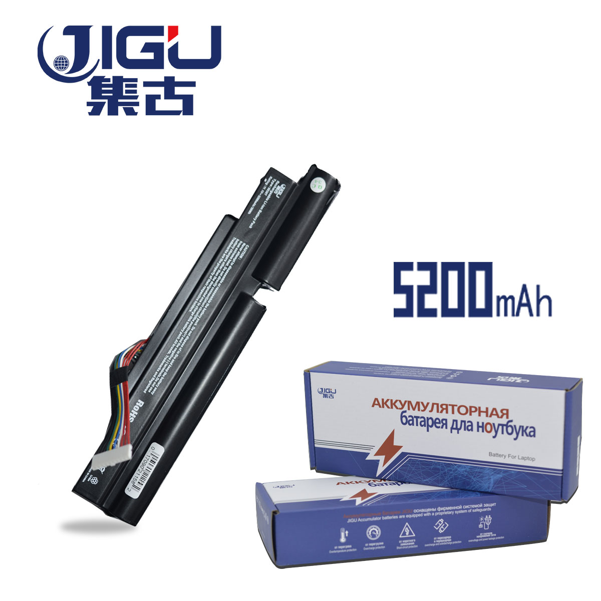 JIGU 5200MAH Laptop Battery 3INR18/65-2 AS11A3E AS11A5E For Acer Aspire TimelineX 3830TG 3830T 4830T 5830T 5830TG 4830TG