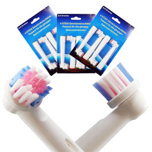 12pcs oral b electric toothbrush replacement heads for braun EB-17S vitality brush heads nozzles for toothbrush Sensitive Clean цена и фото