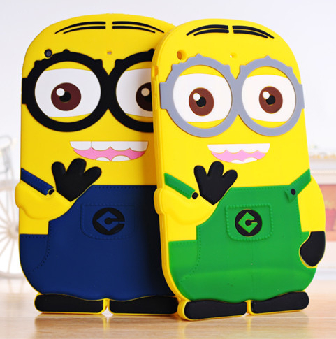 ipad mini 1/2 2/3/4 Soft Silicone Tablet Protection Shell Despicable Case Cover - Beauty Mobile store