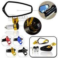 RM 061B BK GO CNC Motorcycle Mirrors Sport Bike Motos Mirror Rearview Side For Yamaha FZR
