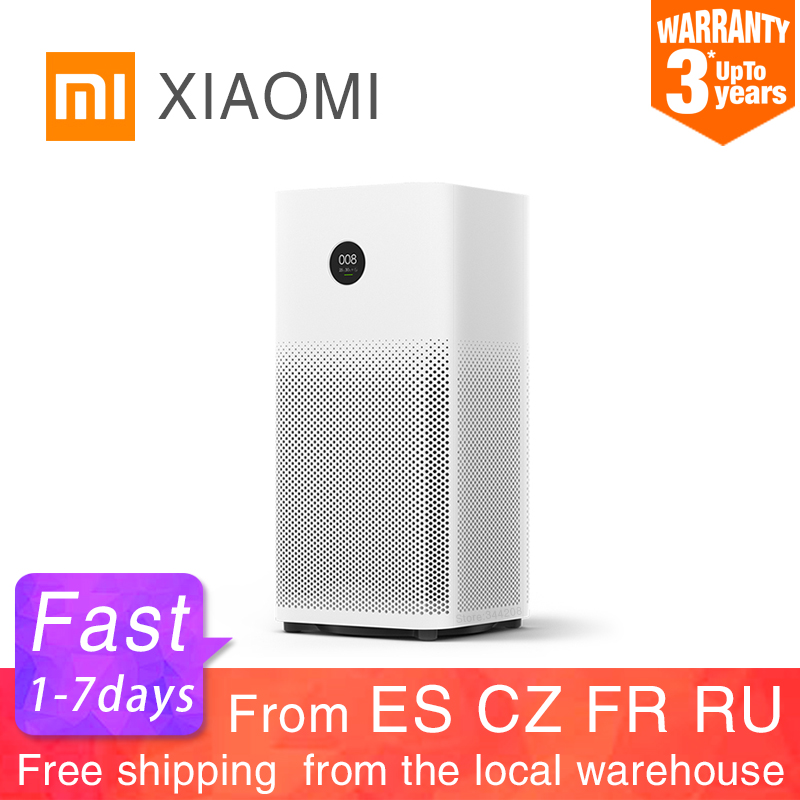 XIAOMI MIJIA Air Purifier 2S Sterilizer Addition To Formaldehyde Wash Cleaning Intelligent Household Hepa Filter Smart APP WIFI(China)