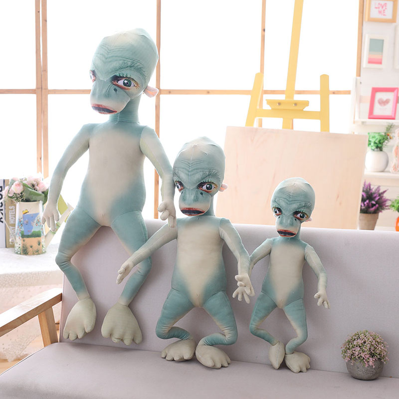 Kawaii Cute Extraterrestrial Plush Toy Plush Animals Toys Cartoon Doll For Children Girls Children Cushion For Birthday Gift