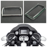Motorcycle ABS Radio Trim Bezel For Harley Road Glide FLTRX Special FLTRXS 2015 2018
